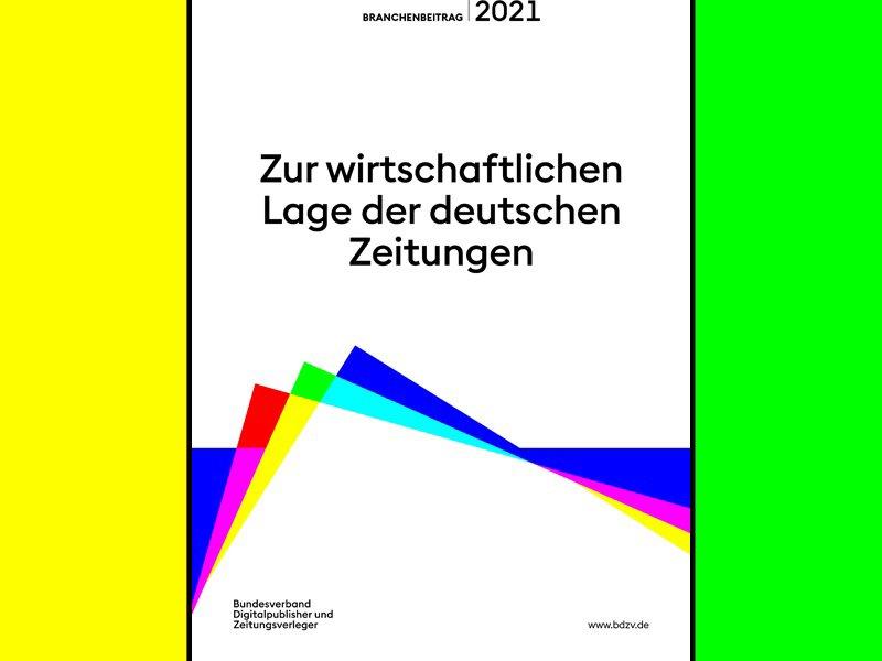 Branchenbericht 2021: So kamen die deutschen Zeitungen durchs Pandemie-Jahr