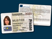 Muster-Presseausweis 2020